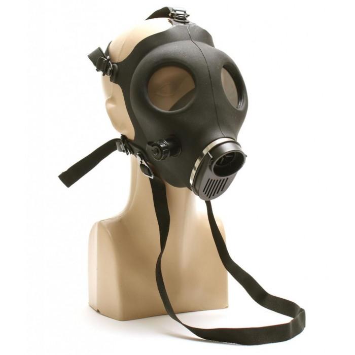 Бонг - противогаз с черна маска